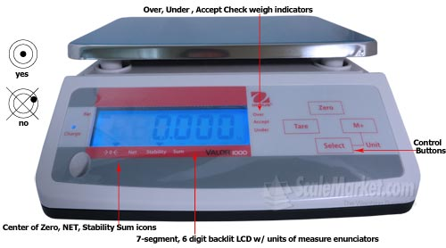 calibration balances ohaus