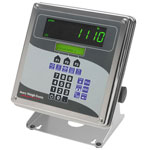 WEIGH -TRONIX E1110 MULTI-APPLICATION, CONFIGURABLE INDICATOR NEMA 6/4X STAINLESS STEEL ENCLOSURE