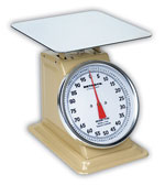 DETECTO T100 - T200 LARGE TOPLOADING DIAL SCALES
